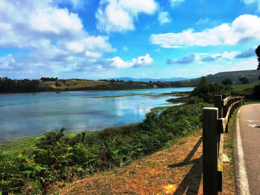 Santillana del Mar, Suances y Vía Verde del Besaya